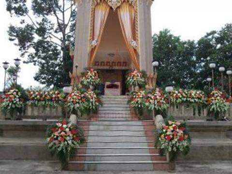 ดอกไม้ประดับเมรุ 14 Suriya Coffin