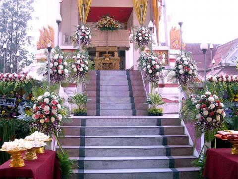 ดอกไม้ประดับเมรุ 12 Suriya Coffin