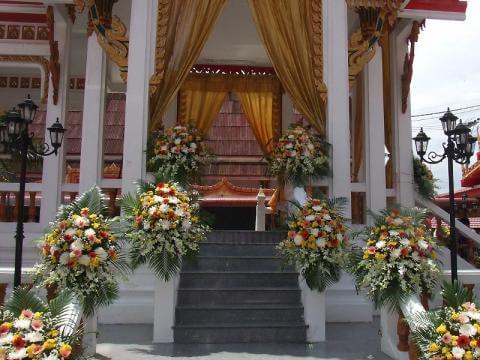 ดอกไม้ประดับเมรุ 11 Suriya Coffin