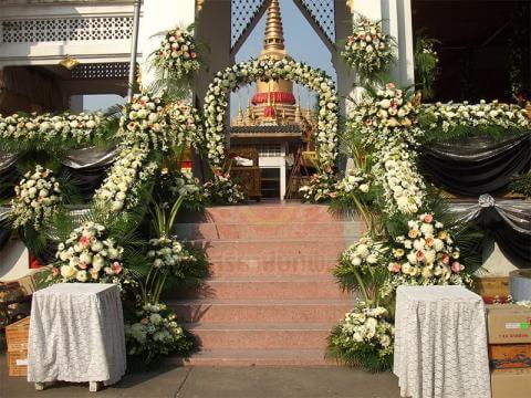 ดอกไม้ประดับเมรุ 10 Suriya Coffin