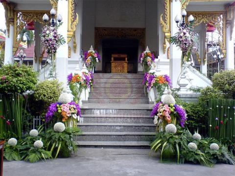 ดอกไม้ประดับเมรุ 07 Suriya Coffin
