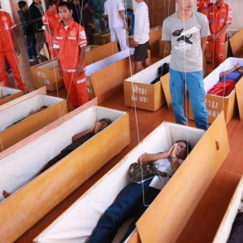 หีบศพ โลงศพ ทำบุญสะเดาะเคราะห์ ร้านโลงศพ